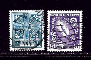 Ireland 225-26 Used 1966-67 issues
