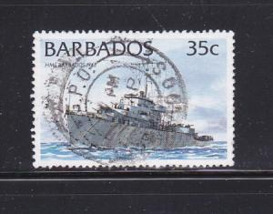 Barbados 876 U Ships (A)