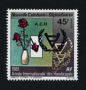 New Caledonia 468 MNH International Year for the Disabled