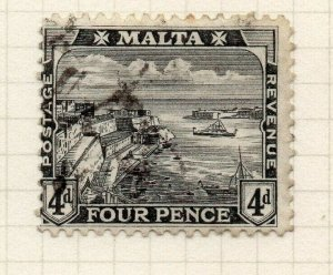 Malta 1915-16 Early Issue Fine Used 4d. 321533