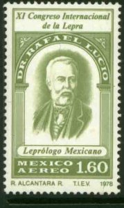 MEXICO C586, International Anti-Leprosy Congress. MINT, NH. VF