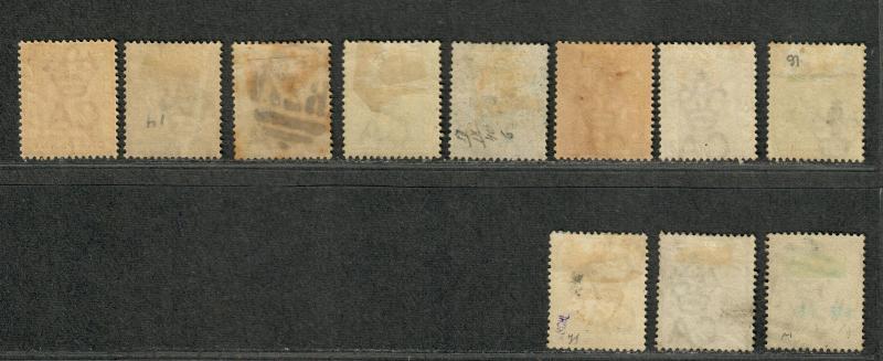 Gold Coast Sc#10-20 M+U/H/F-VF, Complete Set, Cv. $510.85