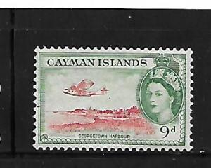 CAYMAN ISLANDS, 144, MINT HINGED, GEORGETOWN HARBOUR