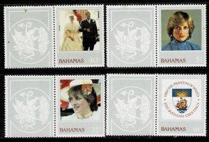 Bahamas 1982 21st Birthday of HRH Princess Diana MNH
