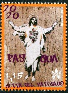 2020 Vatican City Easter (Scott NA) MNH