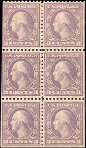 502b Mint,OG,H...  Booklet Pane... SCV $60.00