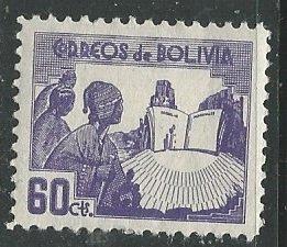 Bolivia || Scott # 247 - MH