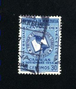 Venezuela #681  used VF 1956 PD