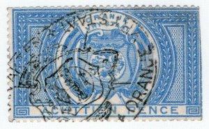(I.B) Orange Free State Revenue : Duty Stamp 1/6d