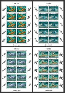 Z08 ANG18103c ANGOLA 2018 Fishes MNH ** Postfrisch
