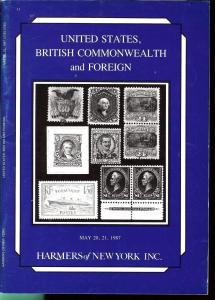 United States, British Commonwealth and Foreign, Harmer N...