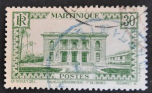 DYNAMITE Stamps: Martinique Scott #142 – USED