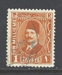 Egypt 128 used wm 195 (DT)