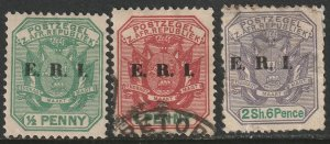 Transvaal Sc 247,248,251 from set MH/used