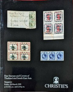 Auction Catalogue Stamps and Covers of THAILAND and SOUTH EAST ASIA