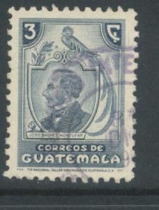 Guatemala 317  Used