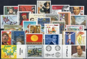2004 Austria Complete Year set with Sheets VF/MNH! CAT 163$