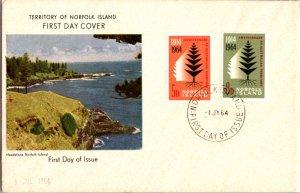 Norfolk Islands, Worldwide First Day Cover