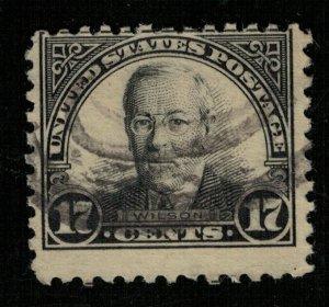 Stamp USA, 1925 Woodrow Wilson, 1856-1924 (ТS-350)