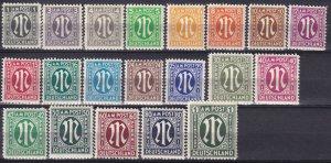 Germany #3N1-20 MNH CV $40.00  (Z4692)