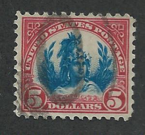 573 Used, $5 America,  scv: $15