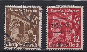 Germ. Sc 467 468 10th. Anny of the Beer Hall Putsch Used L7