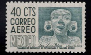 Mexico Scott C211 MNH** airmail stamp pencil ID in gum