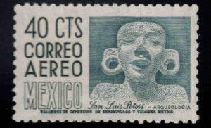 Mexico Scott C211 MNH** airmail stamp pencil ID in gum