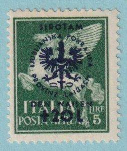 YUGOSLAVIA  - ITALIAN OCCUPATION NB14  MINT HINGED OG * NO FAULTS VERY FINE!