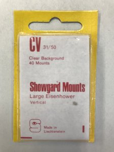 CV Showgard Mounts Clear Background - 40 Mounts