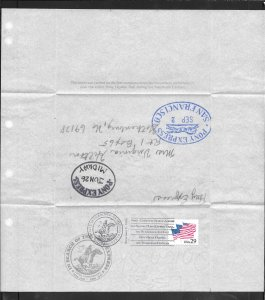 Just Fun Cover #2531 Letter Carried First Comp Ride Pony Express 1991 (my4146)