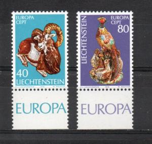 Liechtenstein 587-588 MNH