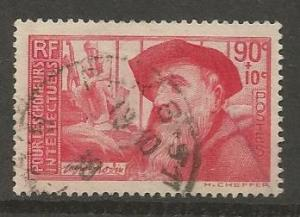 FRANCE B52 USED AUGUSTE RODIN ISSUE 1937