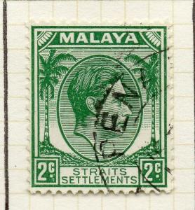 Malaya Straights Settlements 1937-41 Early Issue Fine Used 2c. 308052