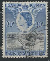 Kenya Tanganyika Uganda KUT  SG 171  SC # 108 Used   see details