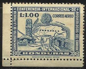 Honduras 1947 Air Mail Scott# C167 MNG (some toning)