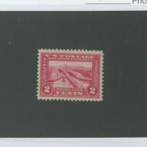 United States Postage Stamp #398 Mint Never Hinged VF Catalogue Value $47.50
