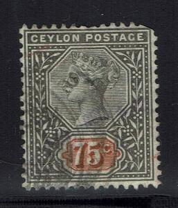 Ceylon SG# 262 - Used - Lot 021216