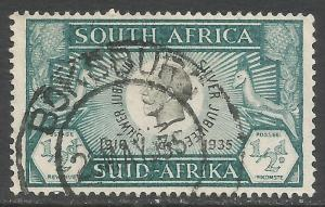 SOUTH AFRICA 68a VFU Z6930-6