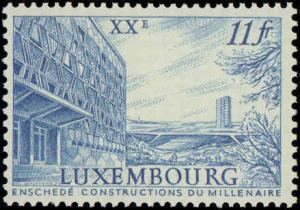 1963 Luxembourg #389-399, Complete Set(11), Never Hinged