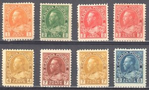 Canada Admiral Collection Liquidation C$550.00 ( 8 Stamps )