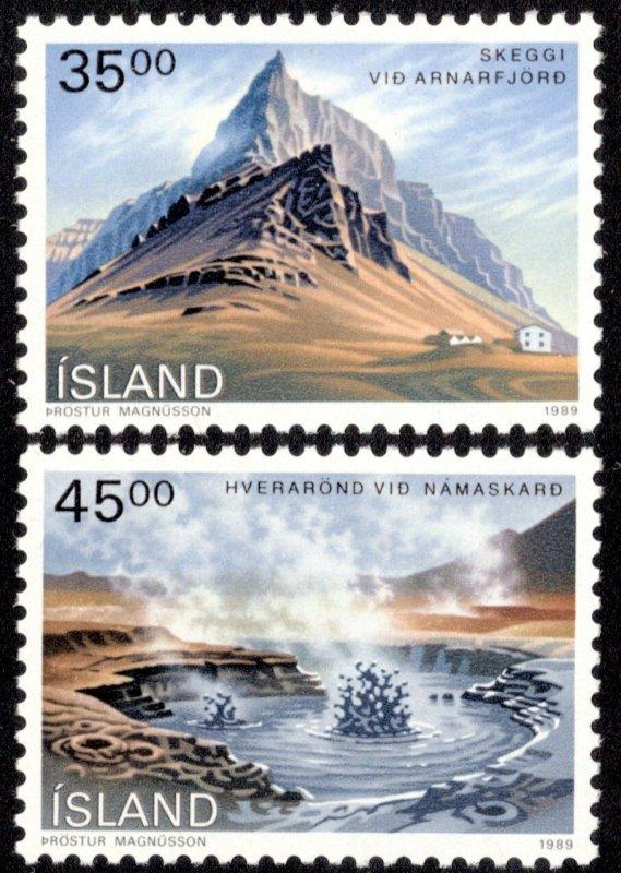 Iceland Scott 678-679 Mint never hinged.
