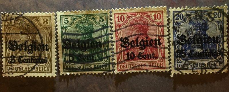 German occupation of Belgium, 1914