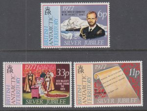 British Antarctic Territory 68-70 MNH VF