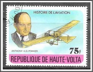 Upper Volta #463 History of Aviation CTO