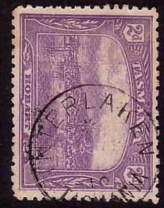 TASMANIA 1910 2d pictorial - INTERLAKEN cds................................33857