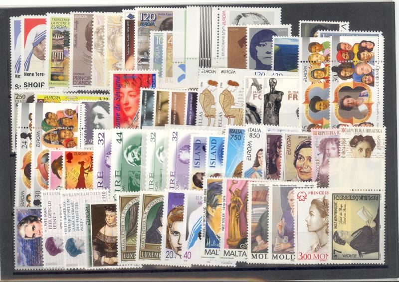 Europa CEPT  1996 complete VF NH  - Lakeshore Philatelicsgood lot