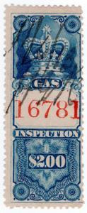(I.B) Canada Revenue : Gas Inspection $2