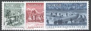NORWAY 1988 Scott 925-27 Cmplt mnh set scv  $5.15 less 60%=$2.00