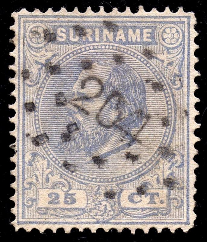 Surinam Sc #11b Perf 14 - Used VF